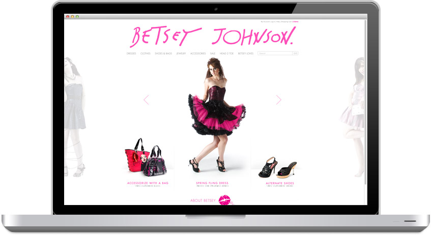 Betsey on laptop